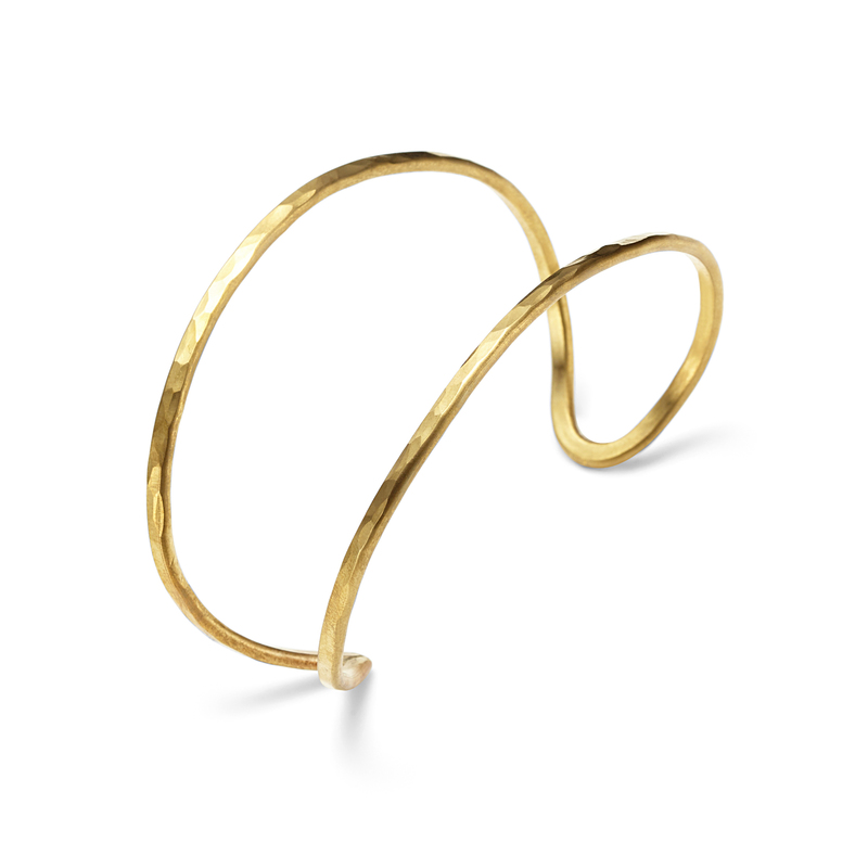 Nashelle Aria Cuff in Brass
