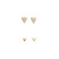 Gorjana Triangle Textured 4 Set