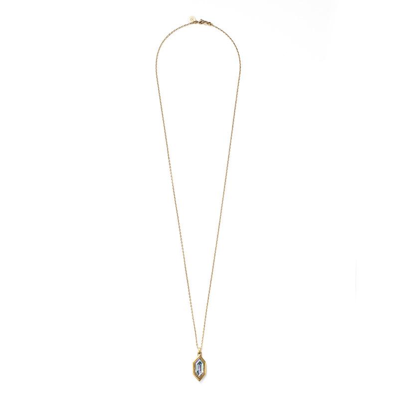 Loren Hope Hex Pendant Necklace