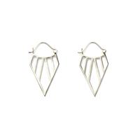 a.v. max Tribal Hoop Earrings in Silver