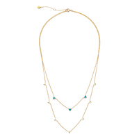 Gorjana Carmen Layered Reversible Necklace