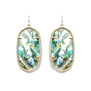 Kendra Scott Danielle Earrings in Gold Abalone