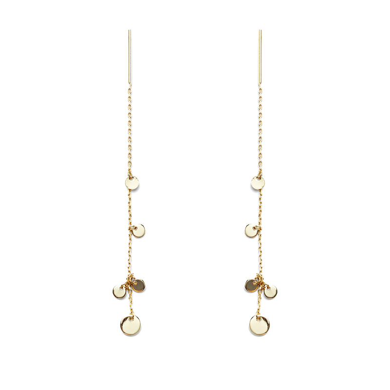 Jules Smith Beith Chain Drop and Stud Earrings