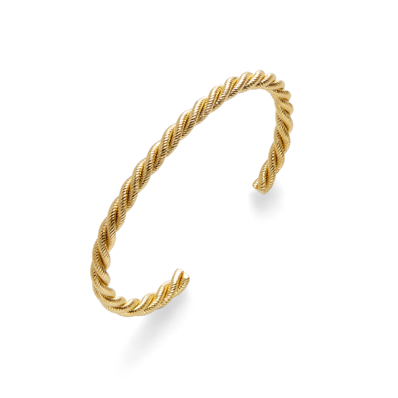 a.v. max Twist Cuff in Gold