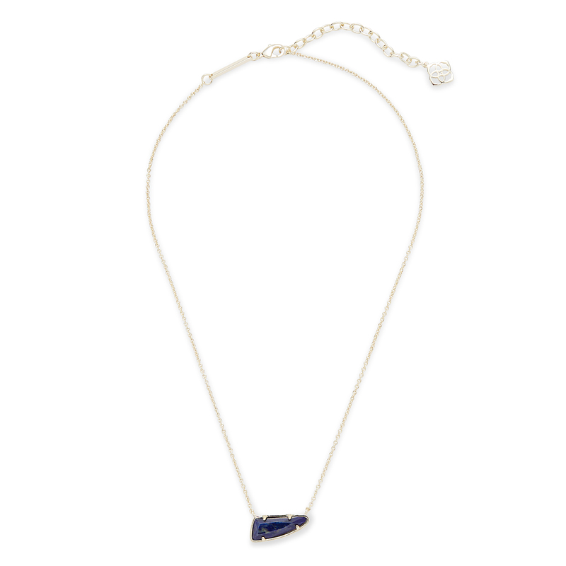 Kendra Scott Etta Necklace in Lapis