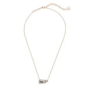 Kendra Scott Etta Necklace in Gray Granite