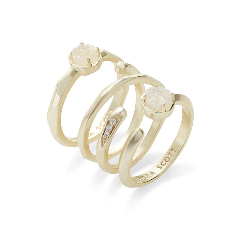 Kendra Scott Warren Ring Set in Gold