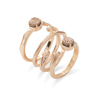 Kendra Scott Warren Ring Set in Rose Gold