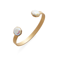 Loren Hope Octavia Cuff in White Iridescent