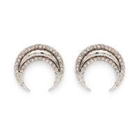 House of Harlow 1960 Gift of Iah Stud Earrings in Silver