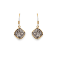 Elise M Phoebe Earrings in Gold and Silver