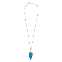 Elise M Sahara Necklace in Electric Blue