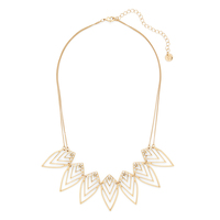 Jules Smith Nature Necklace in Gold