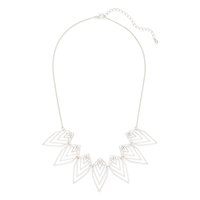 Jules Smith Nature Necklace in Silver