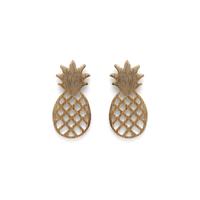 Moon & Lola Ananas Pineapple Studs