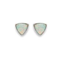 Wanderlust + Co Aurora Earrings in Silver