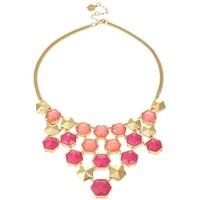 Trina Turk Hexagon Bib Necklace