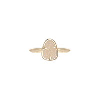 Kendra Scott Haylee Ring in Gold Iridescent Drusy
