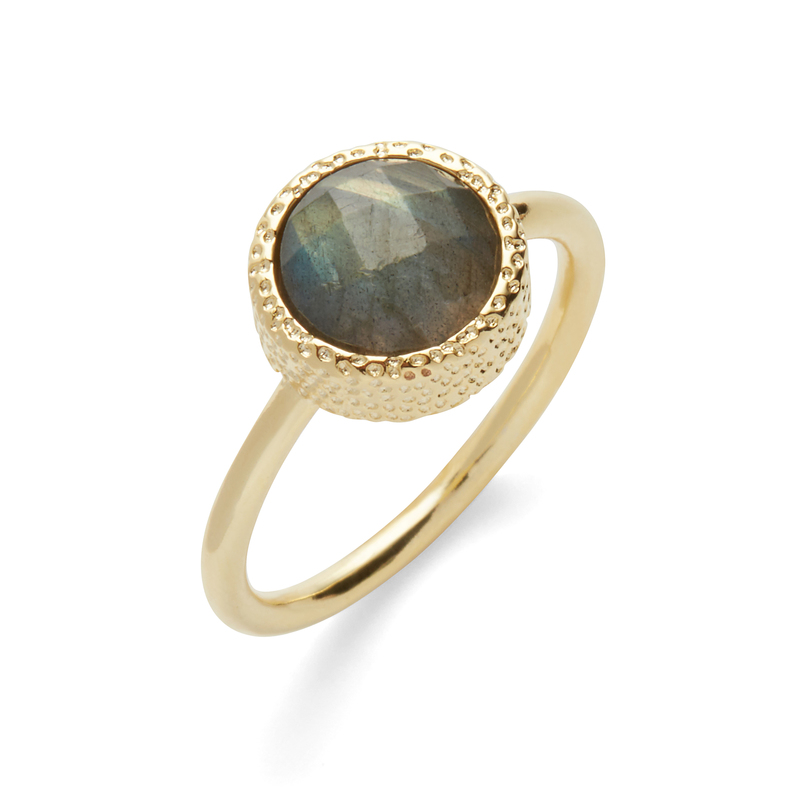 Elise M Haven Ring in Labradorite