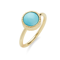 Elise M Haven Ring in Turquoise