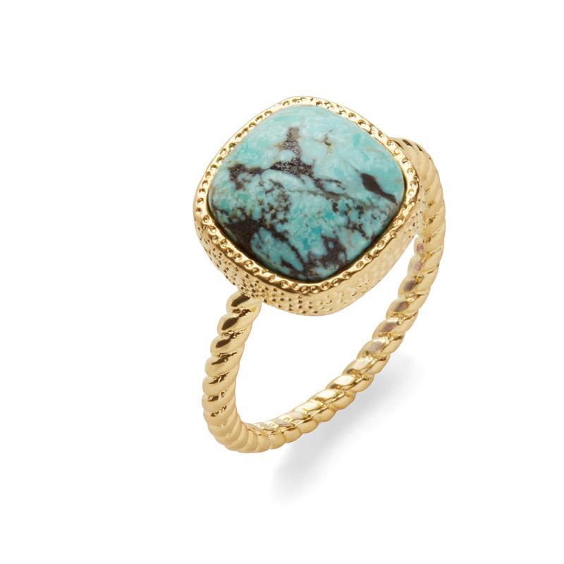 Elise M Hadar Ring in Turquoise