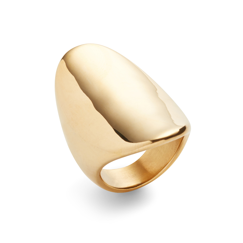 Elise M Nile Ring in Gold