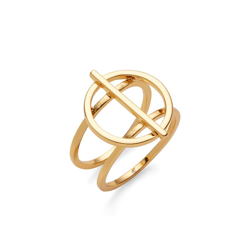 Gorjana Anya Circle Ring