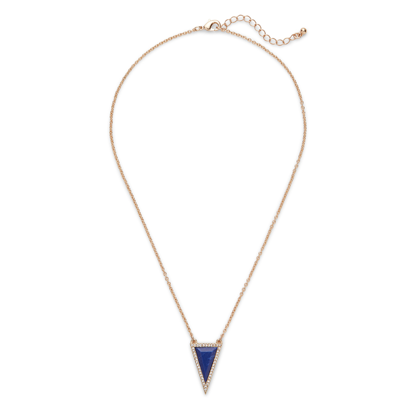SLATE Daphne Triangle Pendant