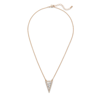 SLATE Daphne Triangle Pendant in Howlite