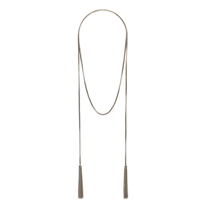 SLATE Aly Lariat Necklace