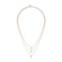 Gorjana Three Disc Necklace in Gold