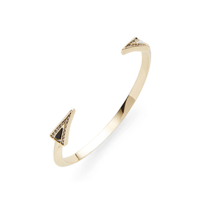 House of Harlow 1960 Acute Cuff in Gold