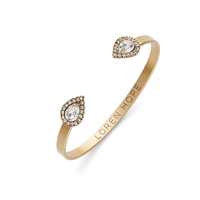 Loren Hope Mini Sarra Cuff in Crystal