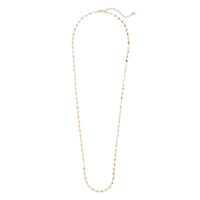Jules Smith Micro Disc Necklace in Gold