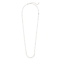 Jules Smith Micro Disc Necklace in Silver