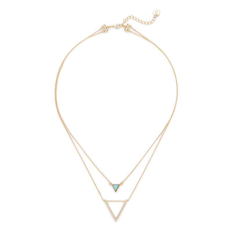 Jules Smith Short Layered Necklace