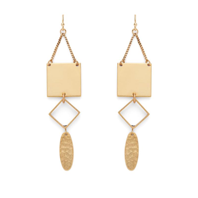 a.v. max Geometric Dangle Earrings