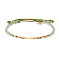 Gorjana Power Gemstone Bracelet in  Gold and Aventurine