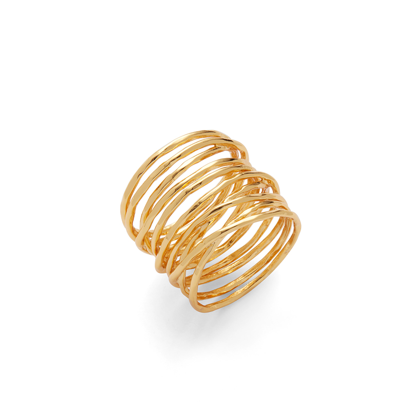 Gorjana Lola Ring in Gold