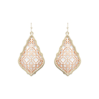 Kendra Scott Addie Earrings in Gold and Rose Gold