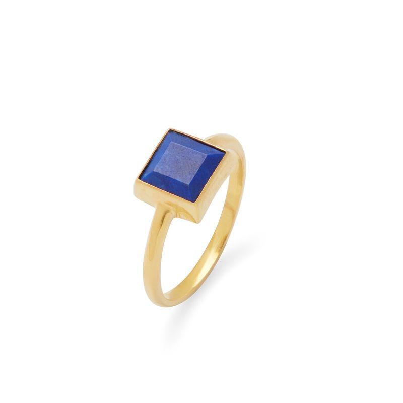 Karen London Sunshine Ring in Lapis