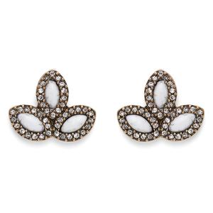 Perry Street Emilia Earrings in Howlite