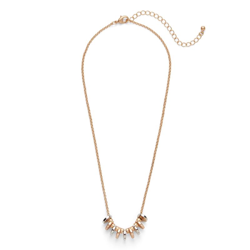 SLATE Dakota Disc Necklace