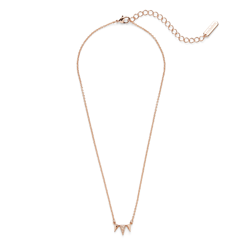 Sophie Harper Jordana Necklace in  Rose Gold