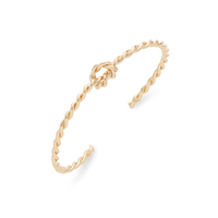a.v. max Knotted Twist Cuff in Gold