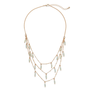 Sophie Harper Beaded Cluster Necklace