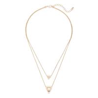 SLATE Tatum Double Pendant Necklace