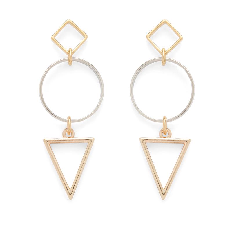 a.v. max Two Tone Mod Earrings