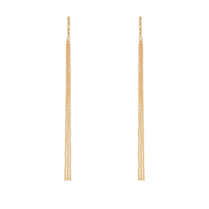Gorjana Twiggy Fringe Duster Earrings