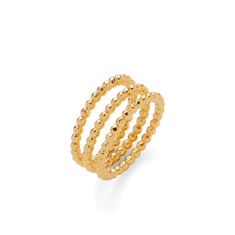 Gorjana Marlow Ring Set in Gold